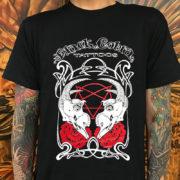 Black Cobra Goat Skull Shirt