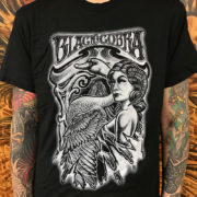 Black Cobra Swan and Lady T-shirt